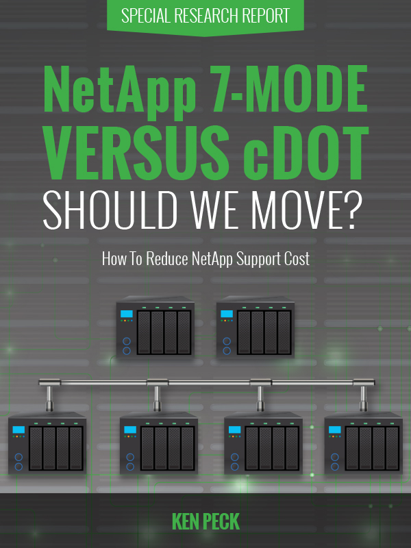 NetApp 7-Mode versus cDOT - Should We Move?
