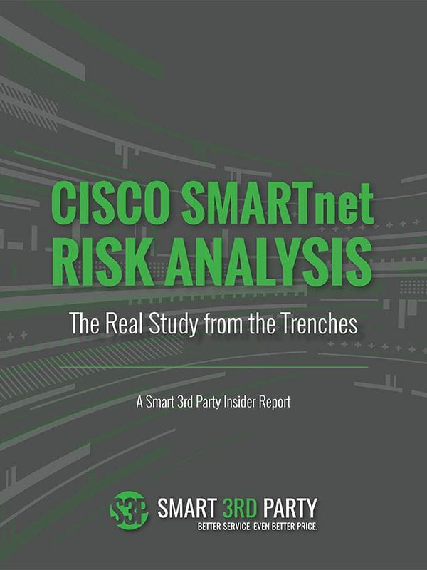 Cisco SmartNet Risk Analysis